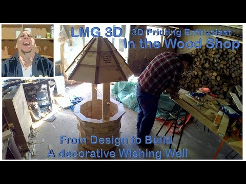 Wishing Well Project in the Wood Shop