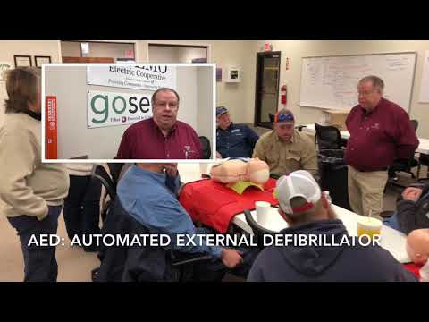 First Aid, CPR, AED Safety Training at SEMO Electric Cooperative
