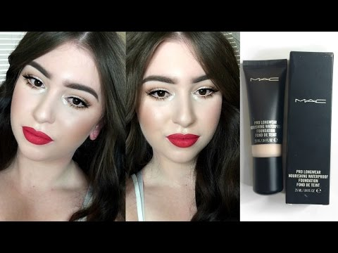 FIRST IMPRESSION | MAC Pro Longwear Nourishing Waterproof Foundation!