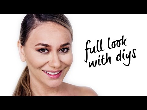 DIY: FULL FACE MAKEUP TUTORIAL USING PRODUCTS FOUND IN PANTRY