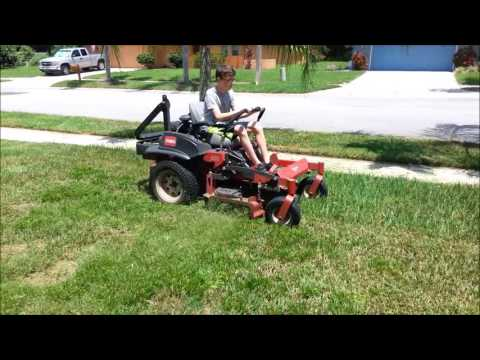 Junior Getting More Time On The Toro Z Master