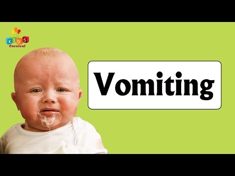 Best Cure For Kids Vomiting with Natural Home Remedies | Kids Carnival