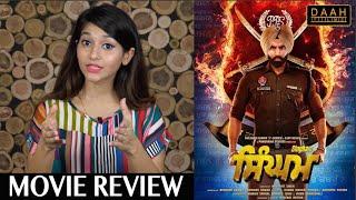 Singham Movie Review | Parmish Verma, Sonam Bajwa, Kartar Cheema | DAAH Films