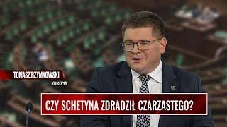 CZY SCHETYNA ZDRADZIŁ CZARZASTEGO? Rzymkowski: Dziś Grzegorz Schetyna wywiesił białą flagę