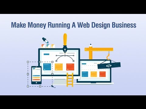 Make Money Running A Web Design Business From Home – Course Promo