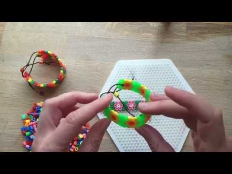 How to Make Perler Bead Bracelets