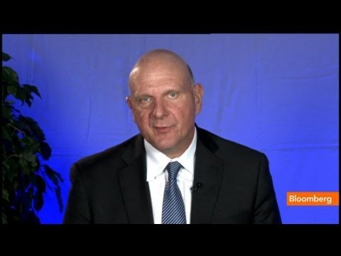 Steve Ballmer: Nokia Deal Accelerates Microsoft's Share Position