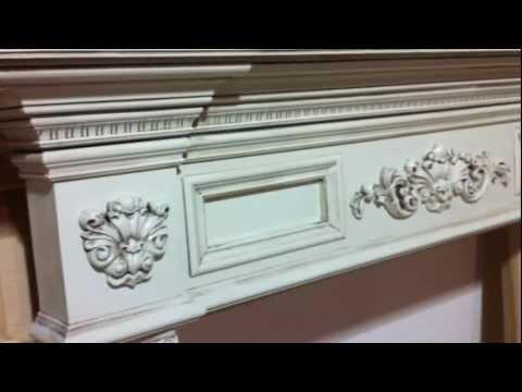 The Gastonia Fireplace Mantel (Glaze #1)