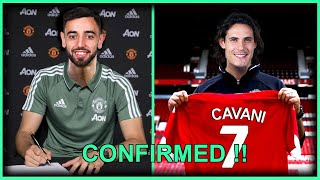 MANCHESTER UNITED LATEST TRANSFER NEWS CONFIRMED AND RUMOURS JANUARY 2020 FT. BRUNO FERNANDES