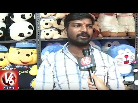 Teddy Bears Craze | People Attracts Towards Different Teddy Toys | Hyderabad | V6 News