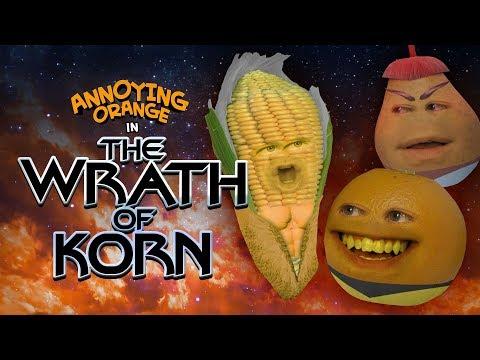 Annoying Orange - The Wrath of Korn (Star Trek Spoof)