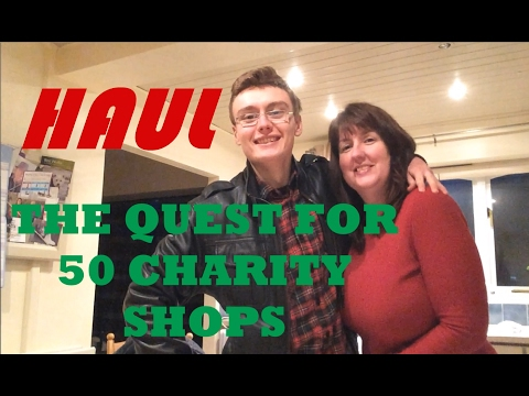 WHAT CAN YOU GET FROM 50 CHARITY SHOPS??? // PT 2 RANDOM BITS AND BOBS FOR EBAY