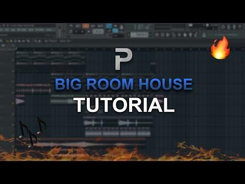 HOW TO MAKE: Big Room House (EASY!) - FL Studio tutorial + FLP