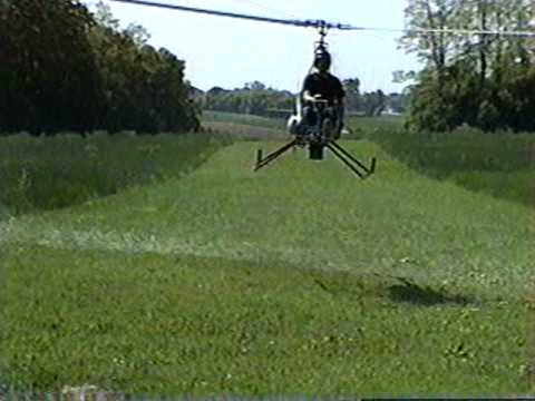 Solar turbine engine powered A/W 95 experimental helicopter