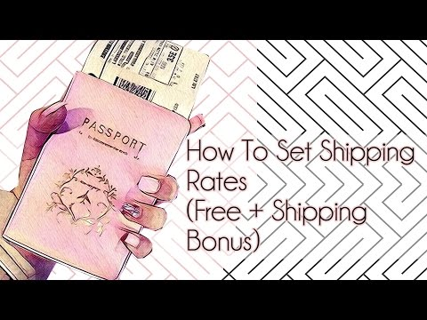 How To Set Up Shopify Shipping Rates (Free+Shipping Bonus)