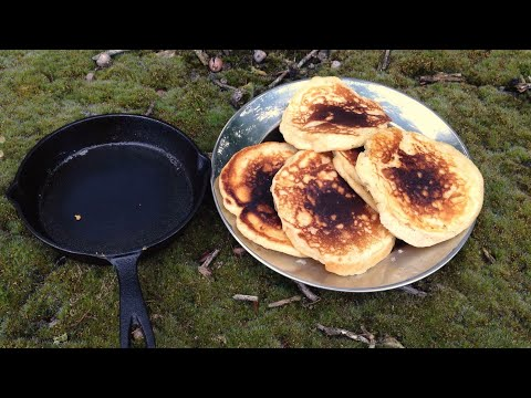 EASY RECIPES - ep 1: How to make oatmeal pancakes aka 'fluffy bannock patties'