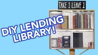 DIY Lending Library
