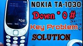 Nokia TA-1030 model 3310 keypad problem keypad jumper - PakVim net