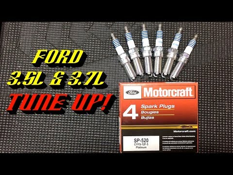2011-2017 Ford 3.5L & 3.7L Duratec V6 Engines: Spark Plug Replacement