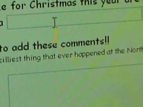 How to send Santa claus a email online