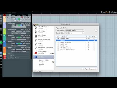 Combining Multiple Audio Devices in Mac OS X