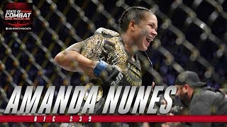 Amanda Nunes is the G.O.A.T | UFC 239 | State of Combat