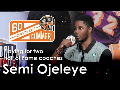 Semi Ojeleye - What was it like playing for two Hall of Fame coaches?