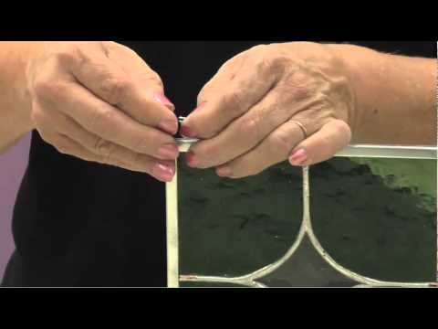 How to Attach Rings to a Stained Glass Panel
