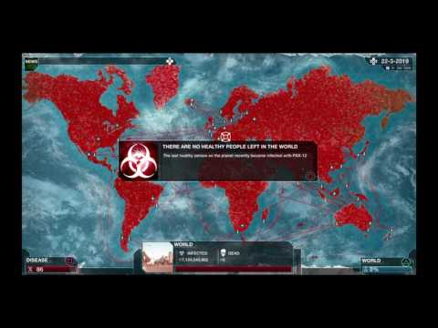 Plague Inc: Evolved PS4 - Bacteria Victory Trophy + Unlock Gene Types