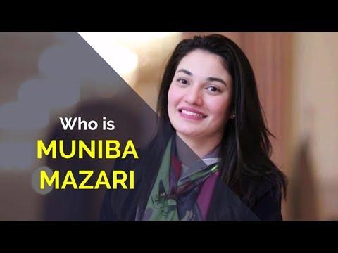 Who is Muniba Mazzari In Urdu innovation/ Motivational speakers Pakistan