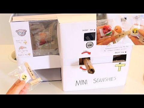 DIY Mini Squishy Vending machine