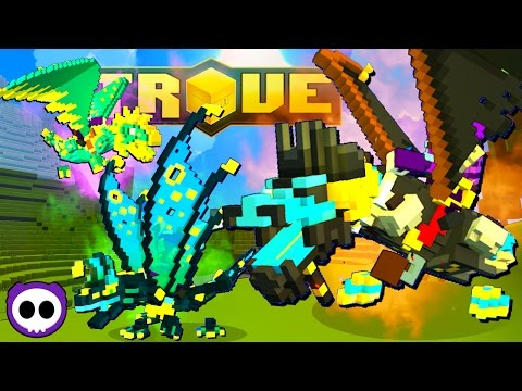 HOW TO GET DRAGONS & MAX MAGIC FIND! - Trove Guide / Tutorial (Xbox One/PS4/Steam)