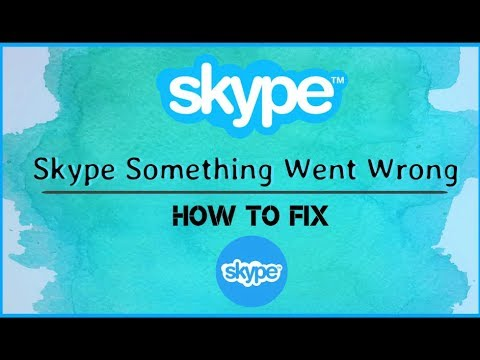 How To Fix - (Skype) Something Went Wrong There Is A Problem With Your Microsoft Account *{2018}*