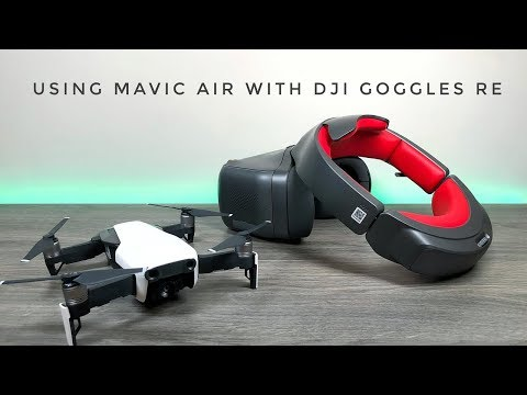 Using Mavic Air With DJI Goggles Racing Edition