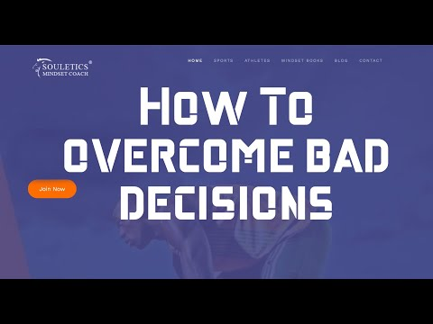 How to Overcome Bad Decisions:  Starting Over... Just Press Reset!
