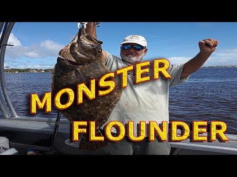 MONSTER FLOUNDER - JACKSONVILLE FL.