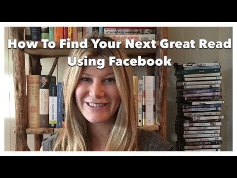 How To Find Your Next Great Read Using Facebook