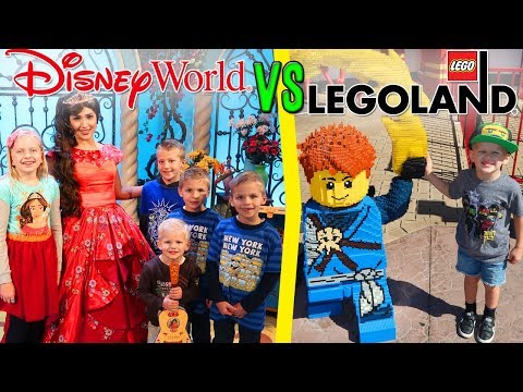 Disney World vs Legoland vs Universal -- Florida Family Fun!