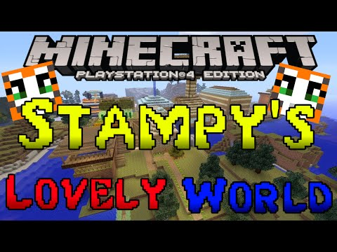 Minecraft PS3 & PS4 - Stampy's Lovely World! - MAP DOWNLOAD