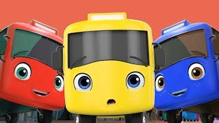 10 Little Buses Song!   +More Lellobee  Nursery Rhymes \u0026 Kids Songs ?   Learning ABCs \u0026 123s