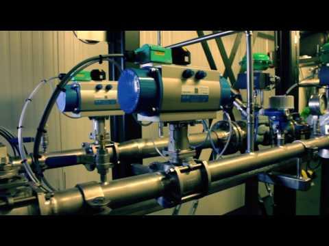 Compact Biogas Upgrading Plant - Haffmans Enclosed Skid - Pentair