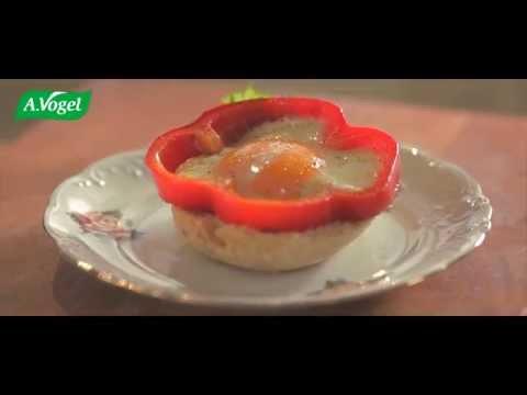 Fried Egg in Bell Pepper