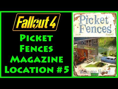 Fallout 4 - Picket Fences - Weston Water Treatment Plant - 4K Ultra HD