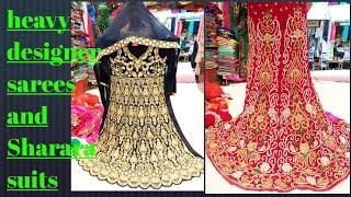 HYDERABAD Heavy designer sarees and shararas designer long frocks