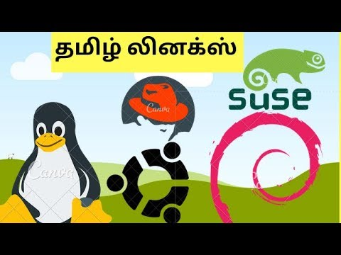 Linux Filesystem Explained  in Tamil