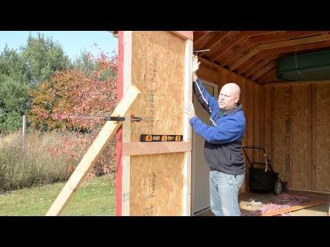 Shed Build 15 - Doors Part 2