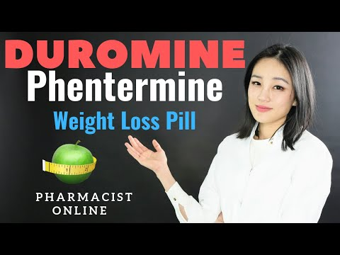 Duromine | Phentermine: Weight Loss Pill | How to lose weight Fast! (2018)
