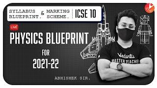 ICSE Class 10 Physics Blueprint for 2021 - 2022 📝 | Syllabus Blueprint & Marking Scheme | Vedantu