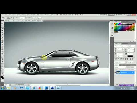 Photoshop CS5 Changing Car Color