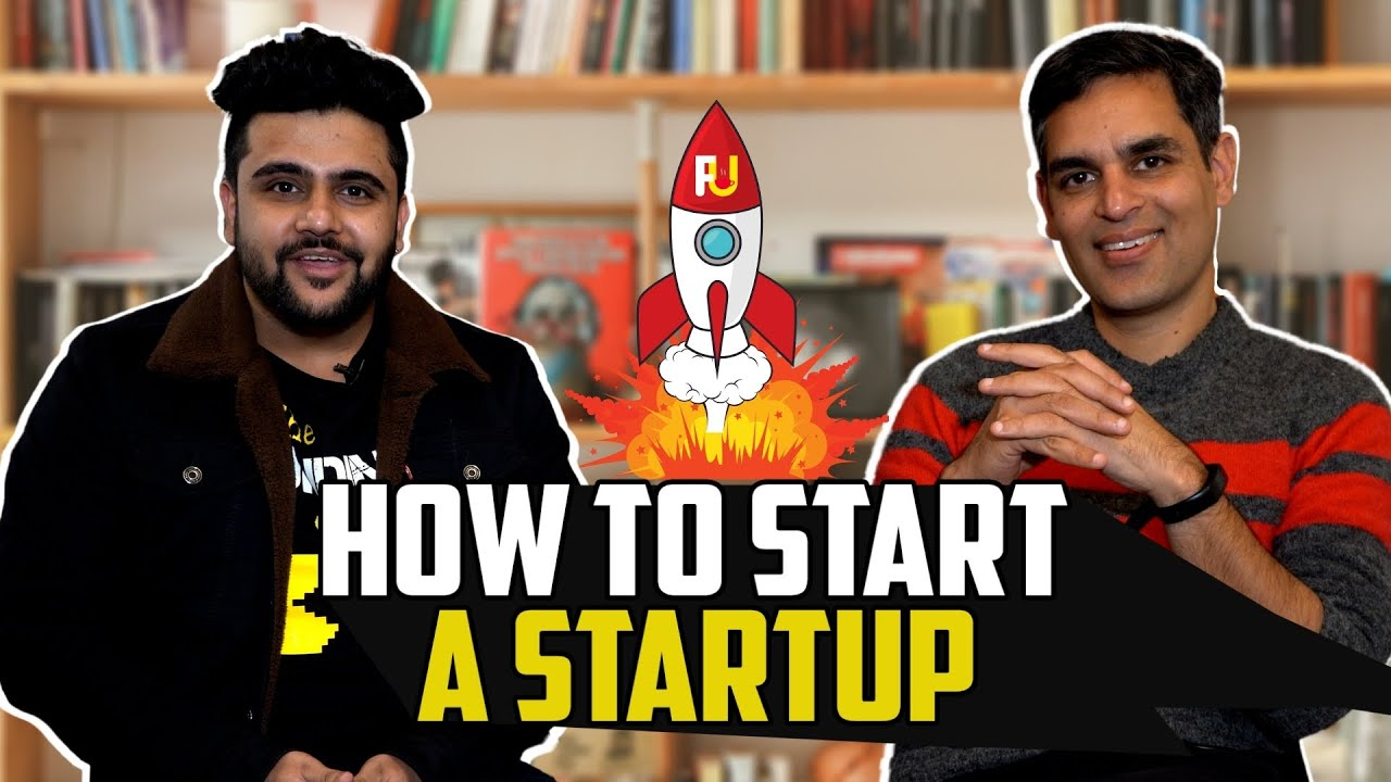 """Ankur@warikoo on """"How to start a startup"""" 